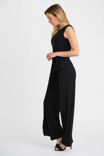 Joseph Ribkoff Black Jumpsuit Style 201073