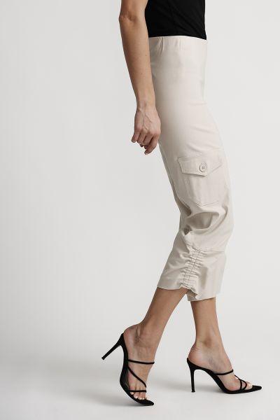 Joseph Ribkoff Champagne Pants Style 201076
