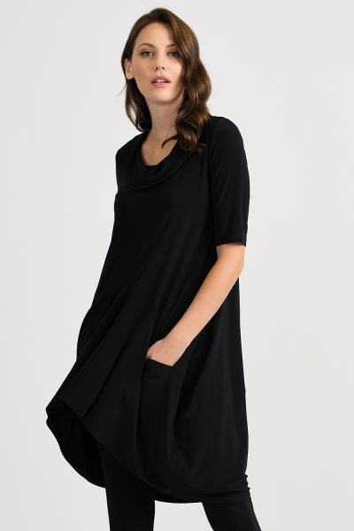 Joseph Ribkoff Black Tunic/Dress Style 201079