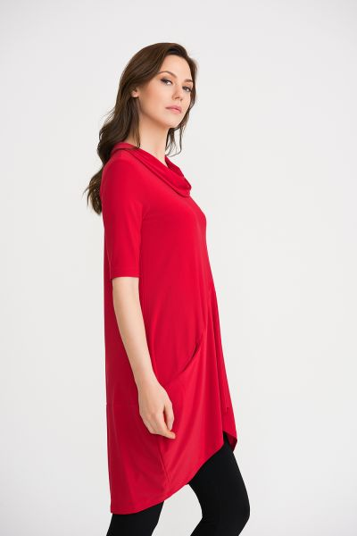 Joseph Ribkoff Lipstick Red Tunic/Dress Style 201079