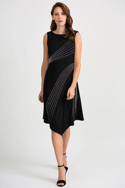 Joseph Ribkoff Black Dress Style 201124