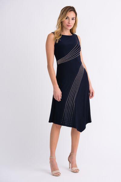 Joseph Ribkoff Navy Dress Style 201124