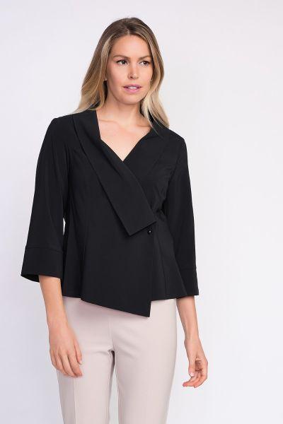 Joseph Ribkoff Black Blouse Style 203295