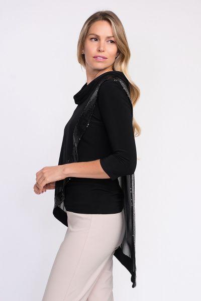 Joseph Ribkoff Black Tunic Style 201125