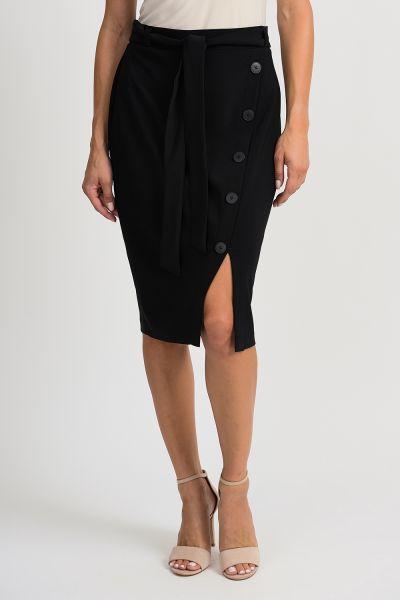Joseph Ribkoff Black Skirt Style 201137