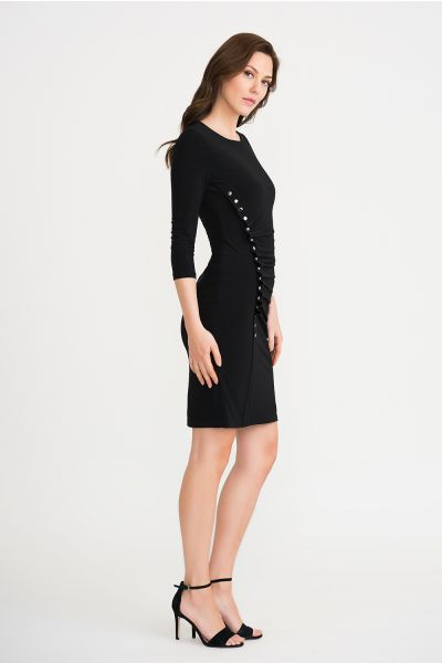 Joseph Ribkoff Black Dress Style 201140