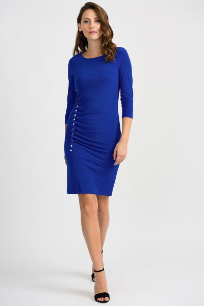 Joseph Ribkoff Royal Sapphire Dress Style 201140