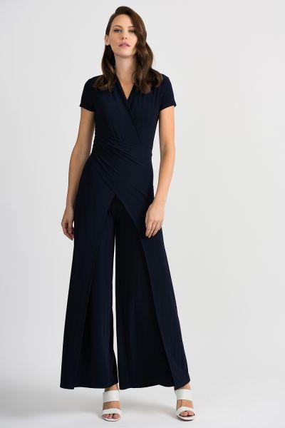 Joseph Ribkoff Midnight Blue Jumpsuit Style 201146