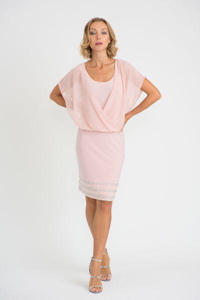 Joseph Ribkoff Rose Dress Style 201166