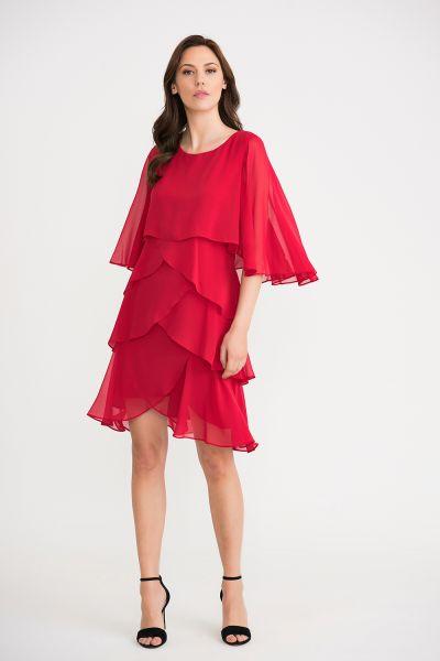 Joseph Ribkoff Lipstick Red  Dress Style 201176