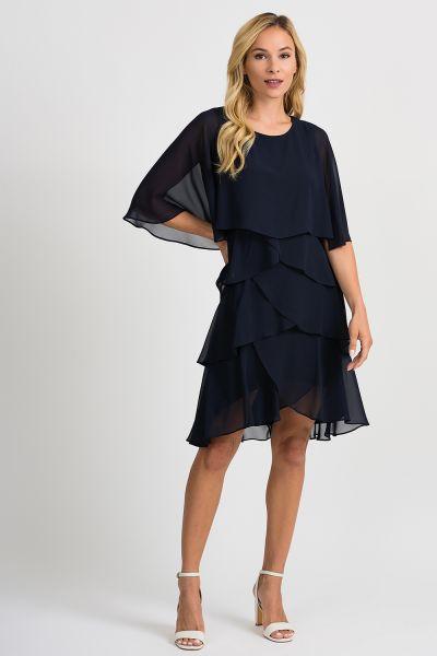 Joseph Ribkoff Midnight Blue Dress Style 201176