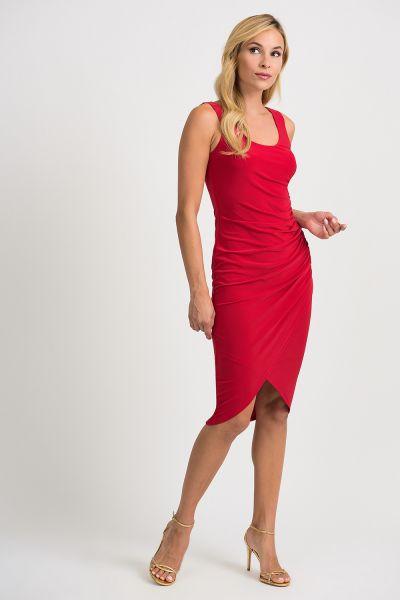 Joseph Ribkoff Lipstick Red Dress Style 201189