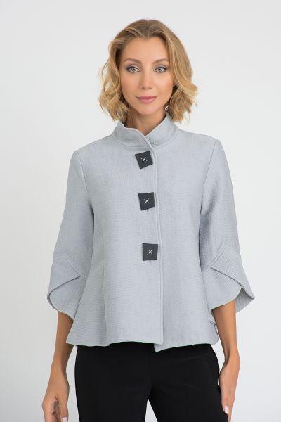 Joseph Ribkoff Grey Frost Jacket Style 201207