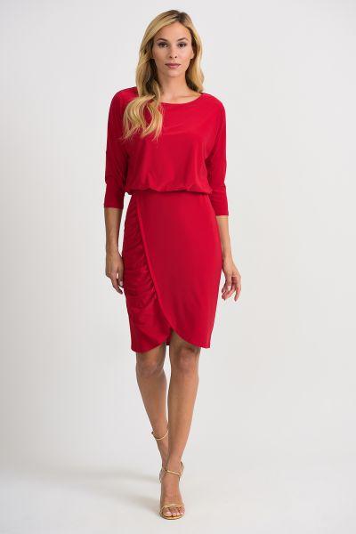 Joseph Ribkoff Lipstick Red Dress Style 201214