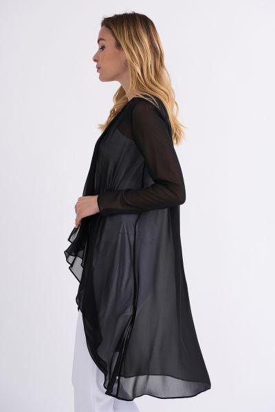 Joseph Ribkoff Black  Cover Up Style 201217