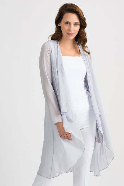 Joseph Ribkoff Grey Frost Cover Up Style 201217