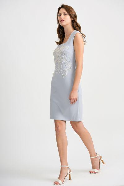 Joseph Ribkoff Grey Frost Dress Style 201218