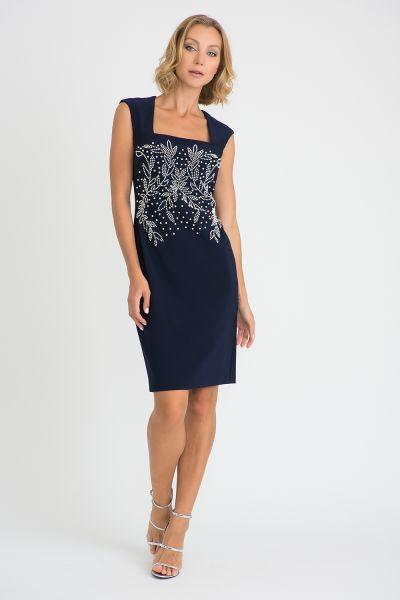 Joseph Ribkoff Navy Dress Style 201218