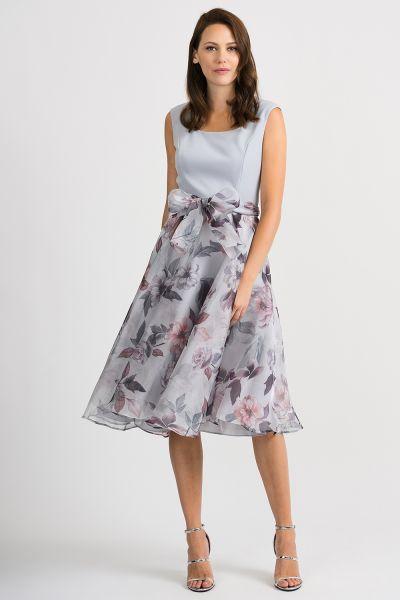 Joseph Ribkoff Grey/Multi Dress Style 201221