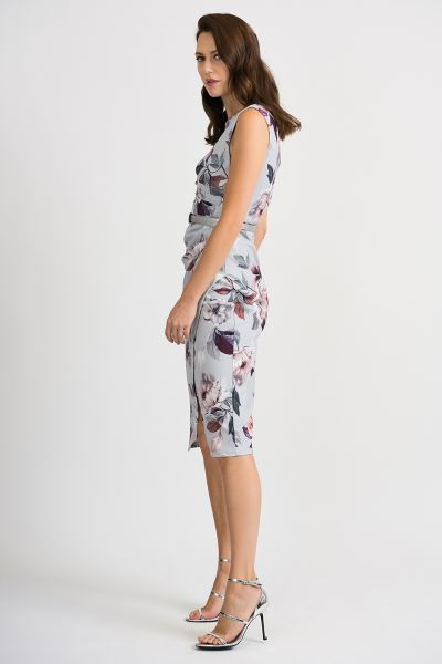 Joseph Ribkoff Grey/Multi Dress Style 201222