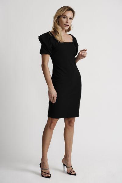 Joseph Ribkoff Black Dress Style 201228