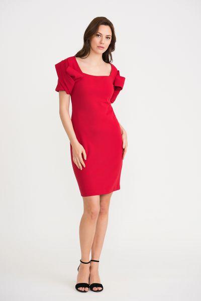 Joseph Ribkoff Lipstick Red Dress Style 201228