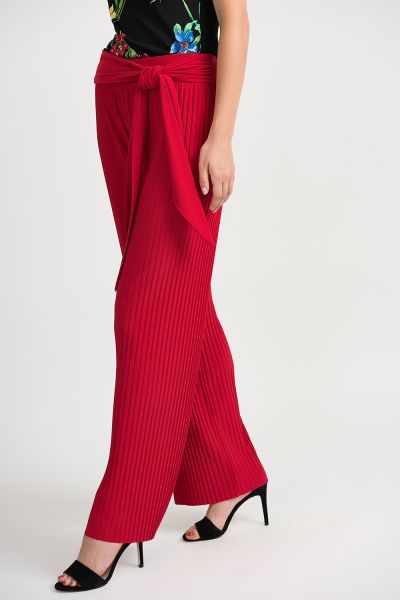 Joseph Ribkoff Lipstick Red Pants Style 201254