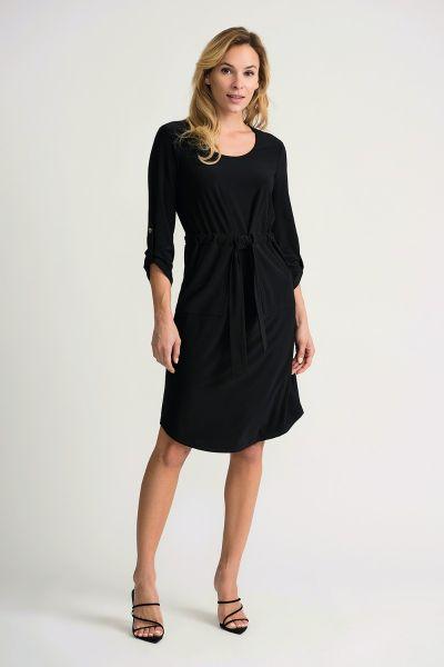 Joseph Ribkoff Black  Dress Style 201274