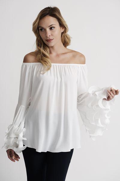 Joseph Ribkoff Off White Top Style 201280