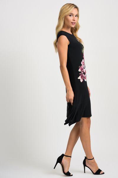 Joseph Ribkoff Black/Multi Dress Style 201287