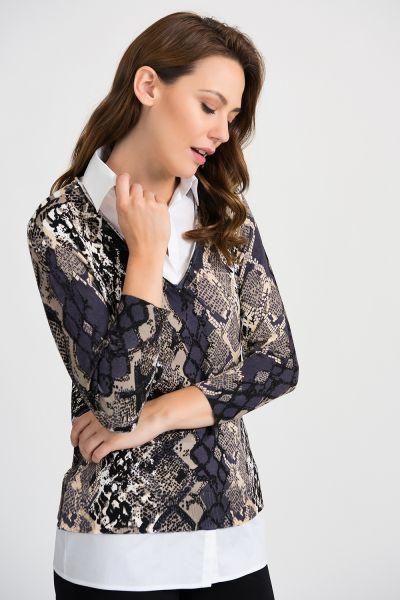 Joseph Ribkoff Multi Top Style 201293