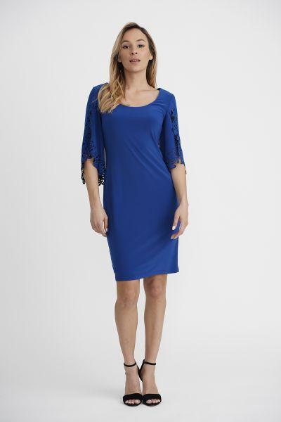 Joseph Ribkoff Royal Sapphire Dress Style 201320