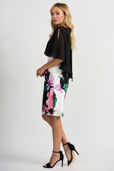 Joseph Ribkoff Black/White/Multi Dress Style 201369
