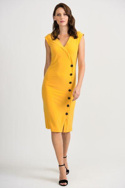 Joseph Ribkoff Golden Sun Dress Style 201404