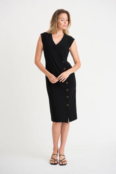 Joseph Ribkoff Black Dress Style 201404