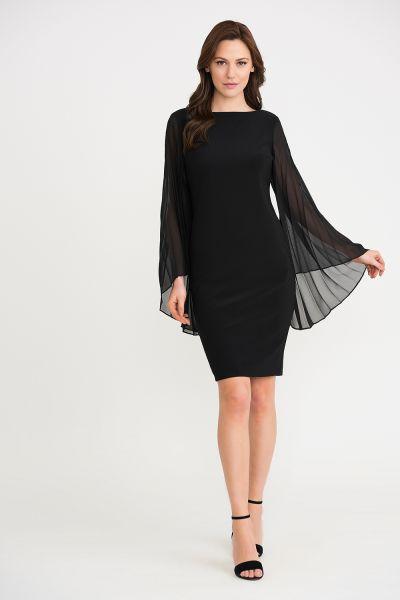Joseph Ribkoff Black Dress Style 201417