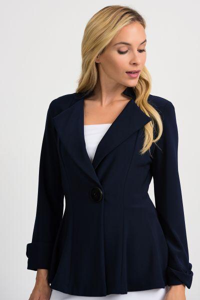 Joseph Ribkoff Midnight Blue Jacket Style 201436
