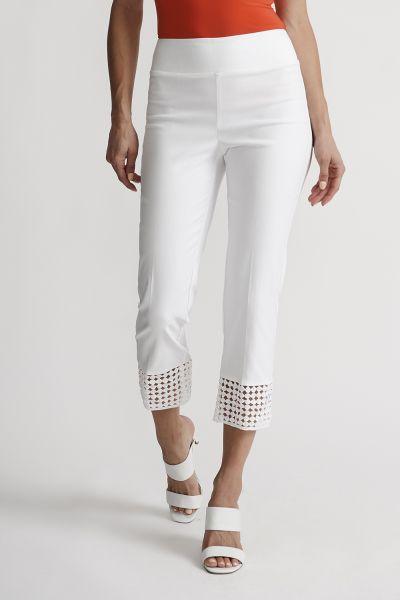 Joseph Ribkoff White Pant Style 201437