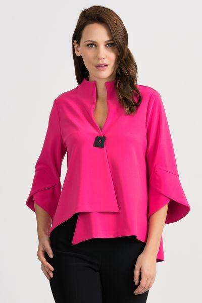Joseph Ribkoff Hyper Pink Jacket Style 201444