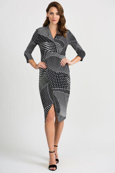 Joseph Ribkoff Black/White Dress Style 201470