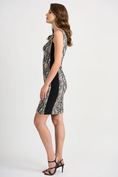Joseph Ribkoff Beige/Black Dress Style 201471