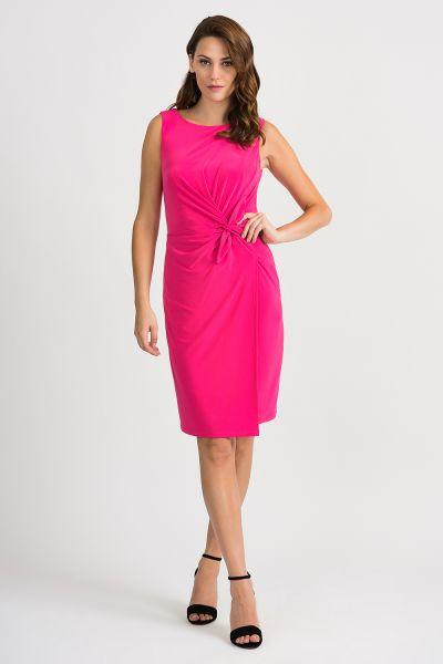 Joseph Ribkoff Hyper Pink Dress Style 201476