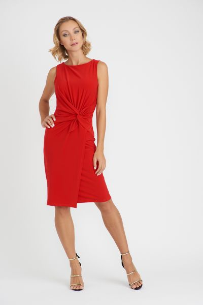 Joseph Ribkoff Lipstick Red Dress Style 201476