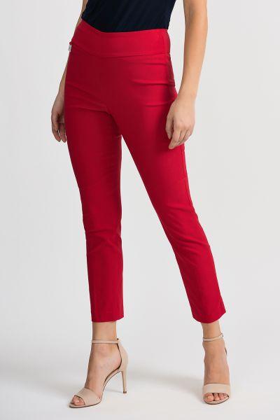 Joseph Ribkoff Lipstick Red Pant Style 201483