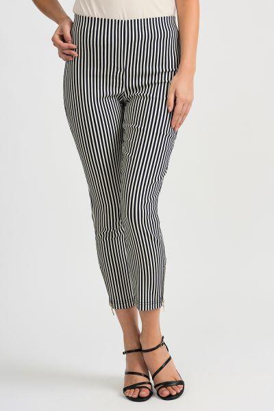 Joseph Ribkoff Navy/Off-White Pant Style 201485