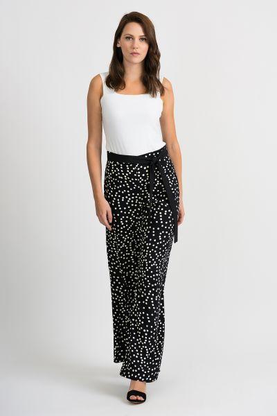 Joseph Ribkoff Black/White Pants Style 201486
