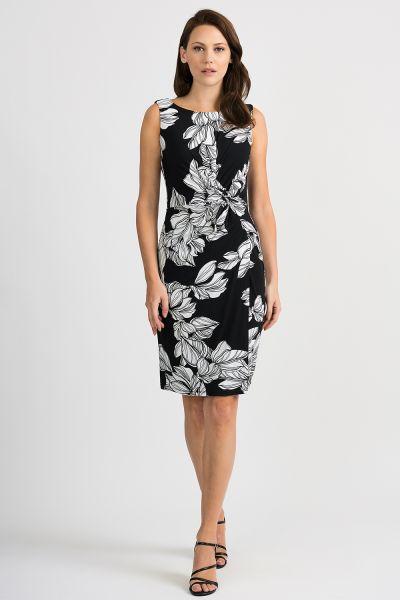 Joseph Ribkoff Black/White Dress Style 201519