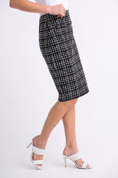 Joseph Ribkoff Black/White Skirt Style 201526