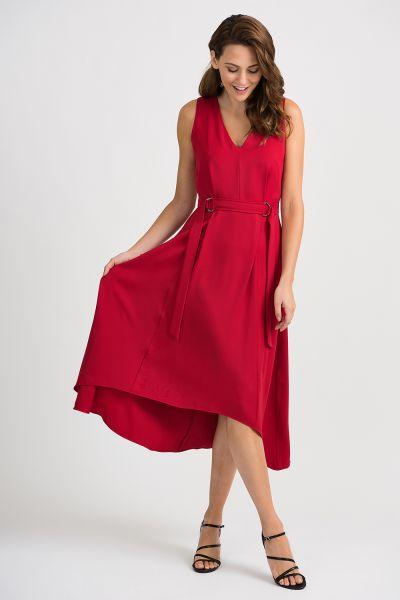 Joseph Ribkoff Lipstick Red Dress Style 201535