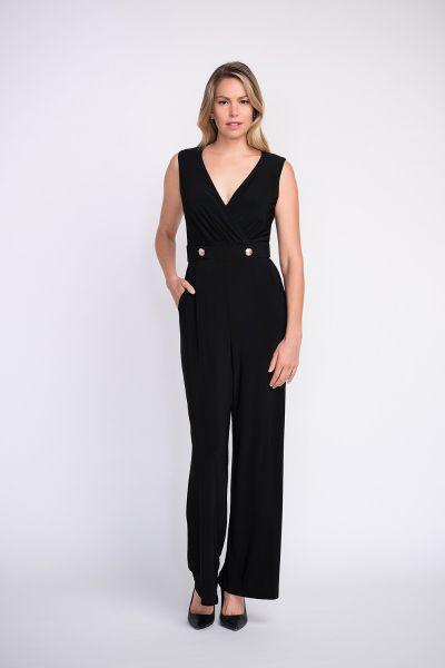 Joseph Ribkoff Black Jumpsuit Style 202023